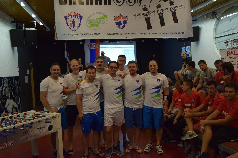 Slovenska reprezentanca na Balkan Cup 2016